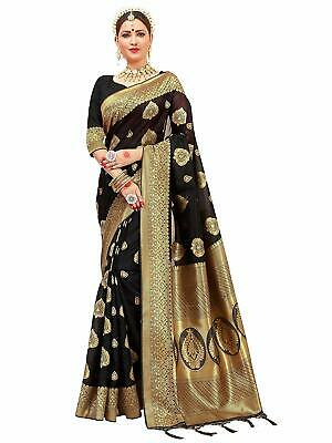 Bollywood Saree Party Ethnic Wedding Indian Pakistani Designer Sari With Blouse