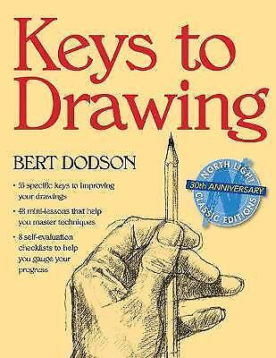 Keys to Drawing by Dodson Book | NEW AU