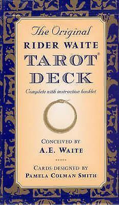 The Original Rider Waite Tarot Deck by Arthur Edward Waite Book | NEW AU