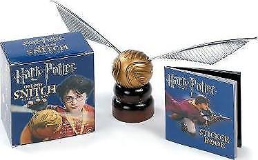 Harry Potter Golden Snitch Sticker Kit by Running Press Book | NEW AU