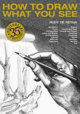 How To Draw What You See by Rudy De Reyna Book | NEW AU