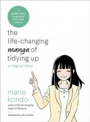 The Life-Changing Manga of Tidying Up by Marie Kondo Book | NEW AU