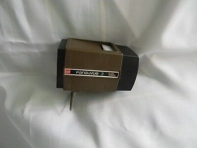 Vintage GAF Pana-Vue 2 Illuminated 2x2 Slide Viewer Magnification USA Made