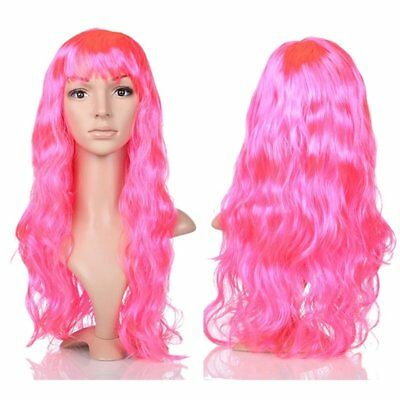 Fashion Halloween Party Hairpiece Curly Long Hair Wig Sexy Lady Full Wigs C1