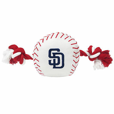 Pets First MLB San Diego Padres Baseball Toy, Large