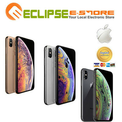 Brand New Apple Iphone Xs Max 512Gb 4G Lte In Box (Apple Au Warranty)