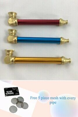8CM Tobacco Smoking Pipe Solid Brass Cone - Metal smoking pipe