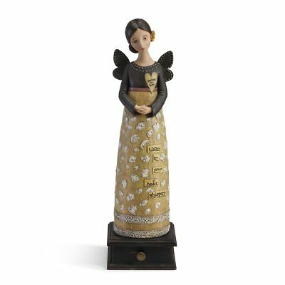 Kelly Rae Roberts Figurine - Heart Whispers Angel 50cm 1002720221