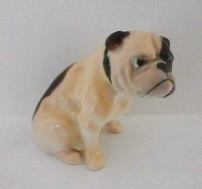 Rare Royal Doulton Bulldog, Seated K1 - Miniature Size - Perfect !!