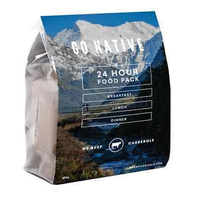 Kathmandu Go Native 24Hour Beef Casserole All-in-one Camping Hiking Outdoor Meal