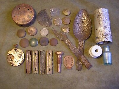 WW I WW1 Original relics from the battlefield from the German bunker