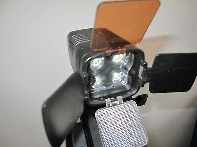 Swit S-2000 4-LED On-Camera Light. Compact and powerful..