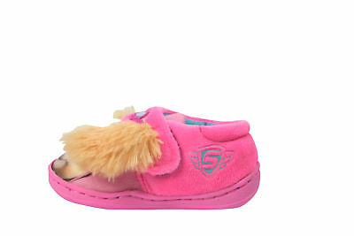 Officially Licensed Paw Patrol Girls Furry Ear Slippers Pink Various Sizes