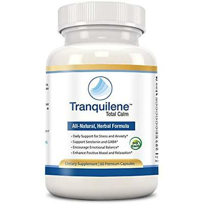 Tranquilene Total Calm By Tranquility Labs - Stress & Anxiety Relief - All Natur