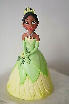 """Princess Tiana figure- Cake Topper from """"The Princess and the Frog"""""""