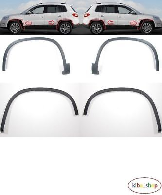 Vw Tiguan 5N 2007 - 2016 Front + Rear Wheel Arch Trim Moulding Left + Right Set