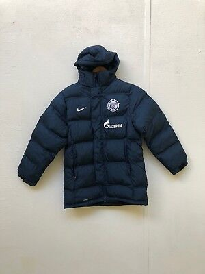 Zenit Saint Petersburg Nike Kid's Bench Padded Jacket- Various Sizes - Navy -New