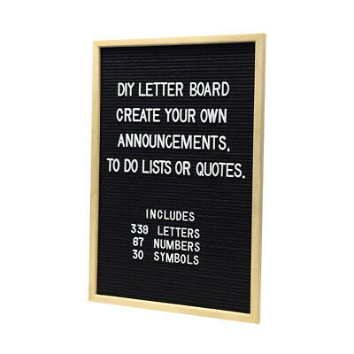 DIY Letter Board Event Decoration Announcement 339 letters 67 numbers 30 symbol