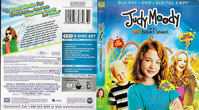 Judy Moody and the NOT Bummer Summer Blu-ray/DVD, 2011, 3-Disc Set