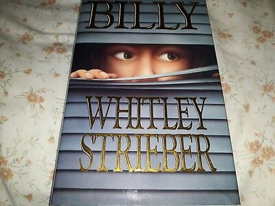 Billy by Strieber, Whitley - Hardback - GP edition full sized -VG condition