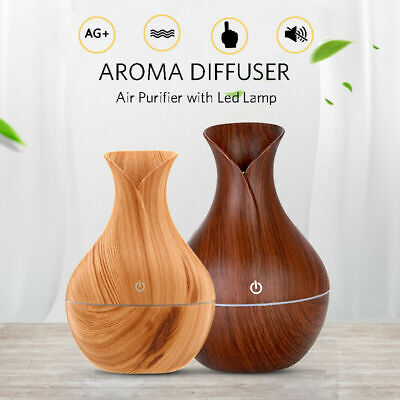 USB LED Ultrasonic Aroma Humidifier Essential Oil Diffuser Aromatherapy Purifier