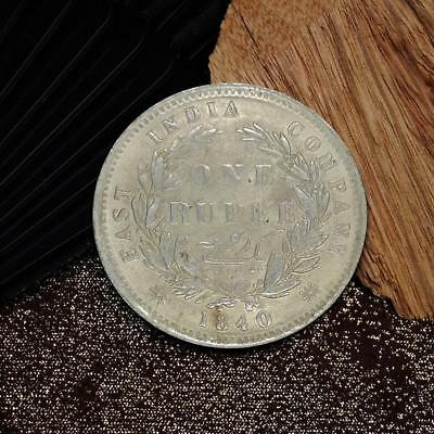 1840 East India Company 1 Rupee Silver Coin Commemorative Coin Collection HOT