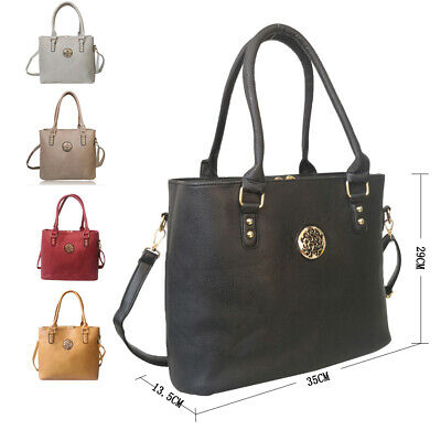 Women's PU Design Tote Bag Ladies Stylish Handbag
