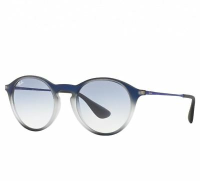 ddc9a46866e Ray-Ban RB4243 622519 Light Blue Gradient Lenses Blue Square Sunglasses  Frames