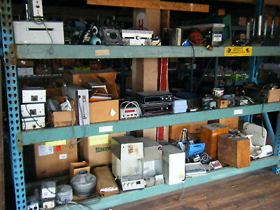 Huge lot of lab glassware and old equipment. Take all.
