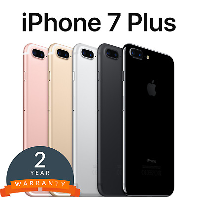 Apple iPhone 7 Plus Smartphone 32/128/256GB Black/Gold/Silver/Rose/Jet Unlocked