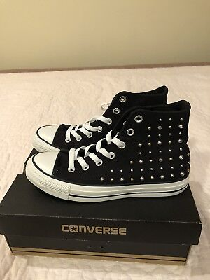 f214f71e22df NEW Chuck Taylor All Star Converse CT HI Black 5 (women 7) sneakers