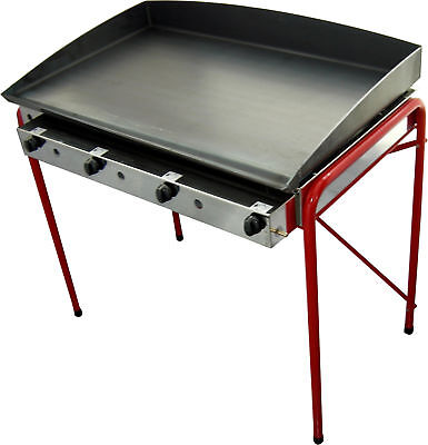 100x50 cm   CATERING VAN COMMERCIAL LPG GRIDDLE  Hot Plate- Barbecue / Gasgrill
