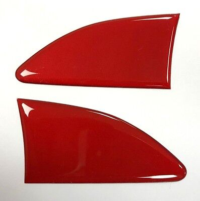 RED 70mm Repeater - Upper Wing Stickers/Decals - HIGH GLOSS DOMED GEL - Corsa