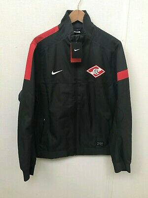 FC Spartak Moscow Nike Men's Club Stadium Jacket - Various Sizes - Black - New