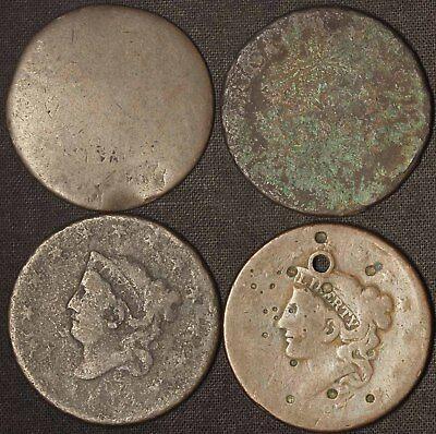 Distressed Large Cent Lot - Free Shipping USA