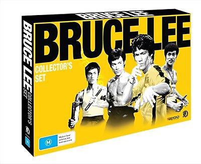 Bruce Lee Collection NEW PAL Classic 8-DVD Set Wei Lo Chuck Norris Hong Kong