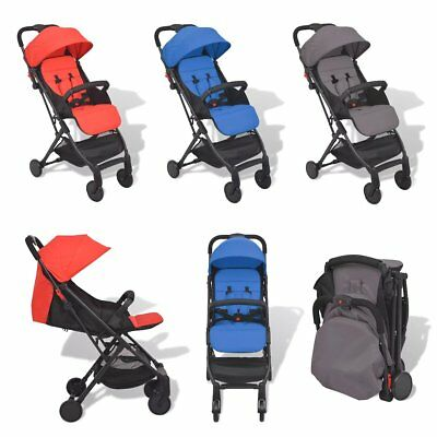 Lightweight Baby Pram Buggy Travel Pushchair Stroller Carry Bag Red/Blue/Grey