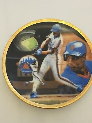 Darryl Strawberry New York Mets Sports Impressions 4 Inch Plate, Collector