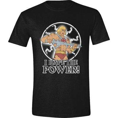"Masters of the Universe Herren T-Shirt Schwarz ""I have the Power!"""