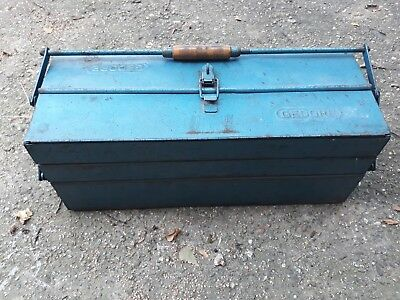 GEDORE Vintage tool box wooden handle very rare