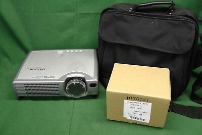 Hitachi CP-X328 Multimedia Mobile LCD Projector w/Bag & Extra Bulb #9846