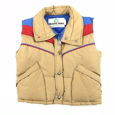 Vintage Pacific Trail Sportswear Youth M(10) Goose Down Puffer Vest