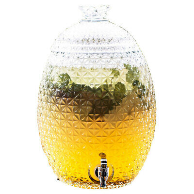 Maxwell & Williams Aloha Pineapple Glass Water Drink Dispenser 10.3L Party/Event