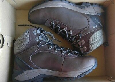 146b7e809a921 MEN'S MERRELL HIKING Boot - Parkton Trekker Waterproof Espresso 7.5 ...