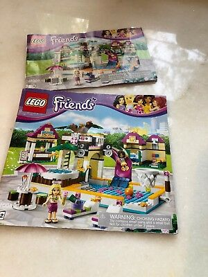 Lego Friends Heartlake City Pool 41008 With Instruction Manuals