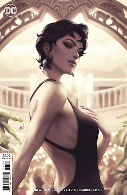 Catwoman 3 Stanley Artgerm Lau Variant NM Ready to Ship Professional Packing