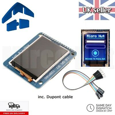 "1.8"" 128x160 SPI TFT LCD Colour Display ST7735R SD Slot - 2.2 Arduino Pi OLED"