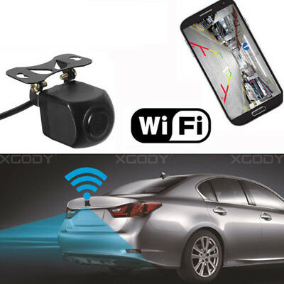 WIFI Backup Camera Car Rear View Night Vision Reverse Waterproof For IOS Android