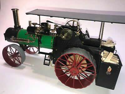 J I Case hand built model of a 75 HP Steam Tractor