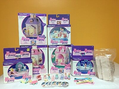 Precious Places HUGE LOT Fisher Price